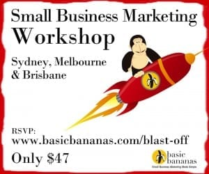 Small business marketing workshop